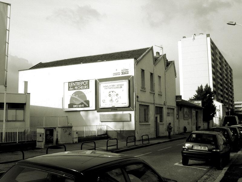 🅟 5 dwellings, rue Maryse, Lyon (France) 2005