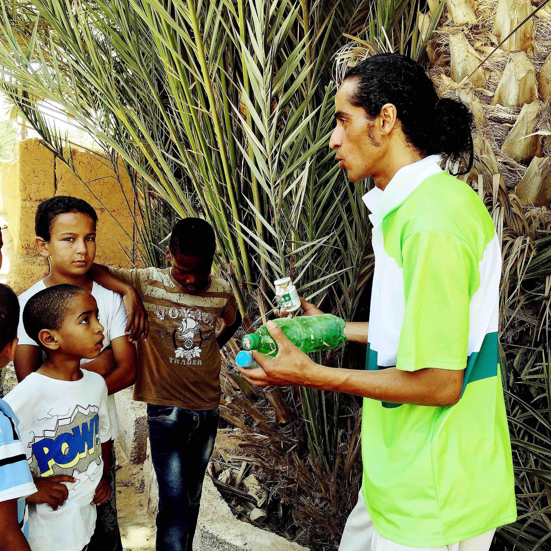 Environmental workshop by Hossni Boudali