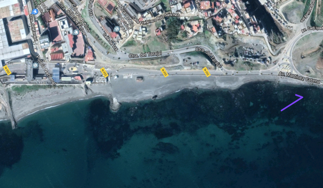 la frontera de Ceuta - o la mediocridad de nuestras autoridades