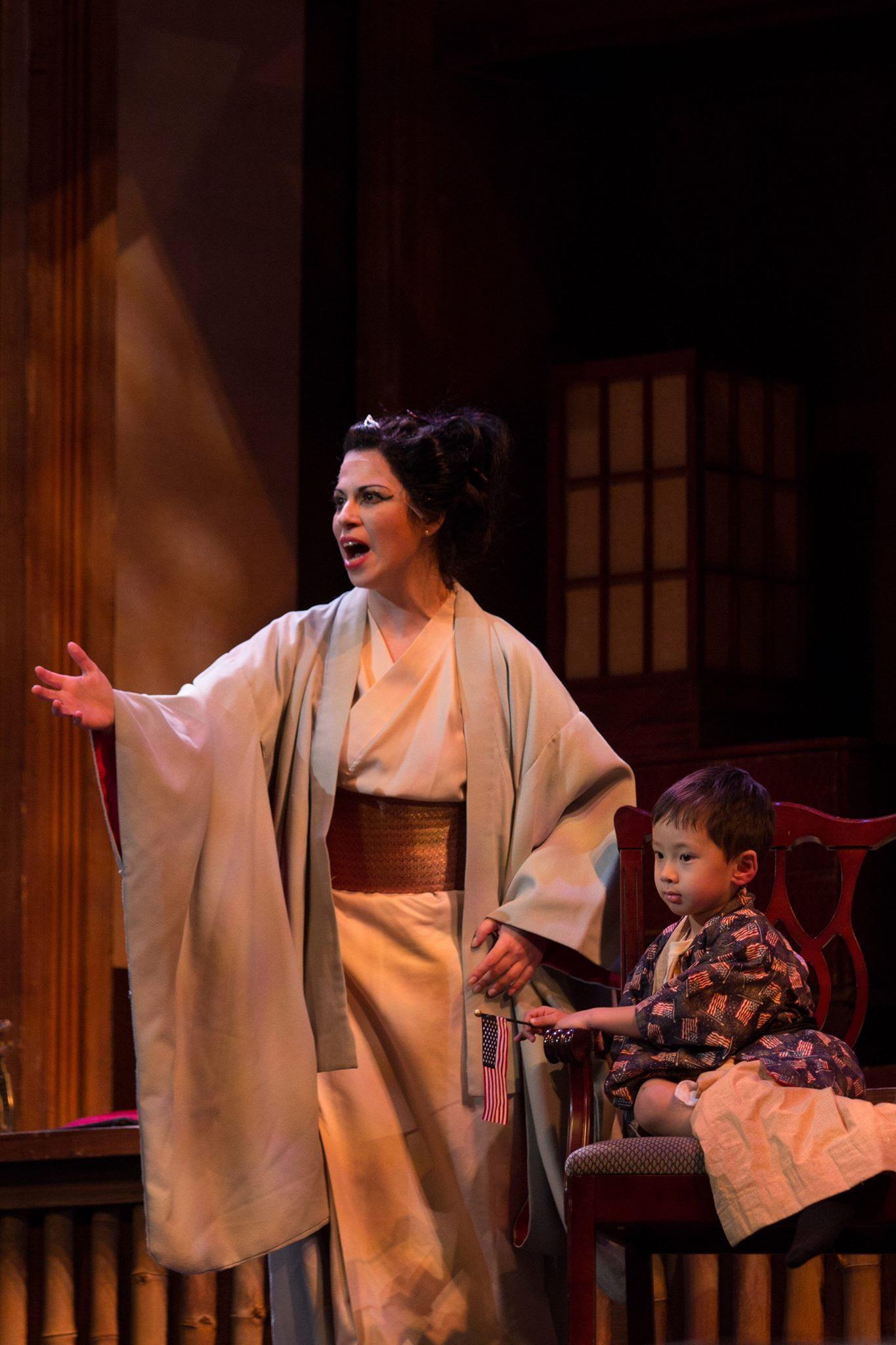 Cio-Cio San, Madam Butterfly (Mobile Opera)