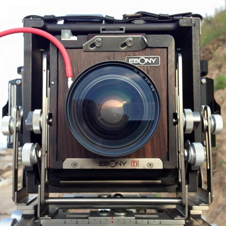 Ebony 4x5 view camera