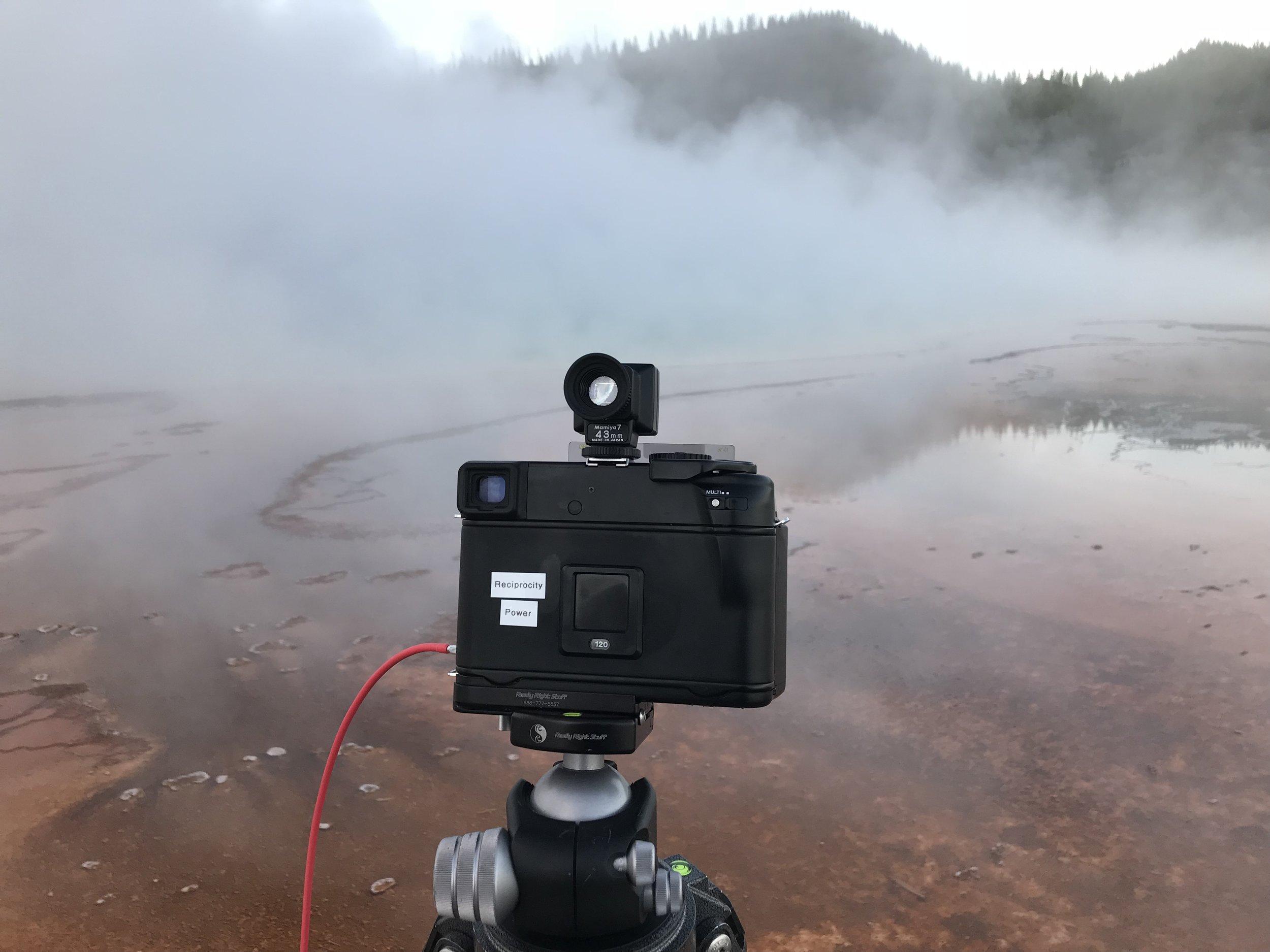 Mamiya 7II, Midway Geyser Basin, Yellowstone Caldera 2018