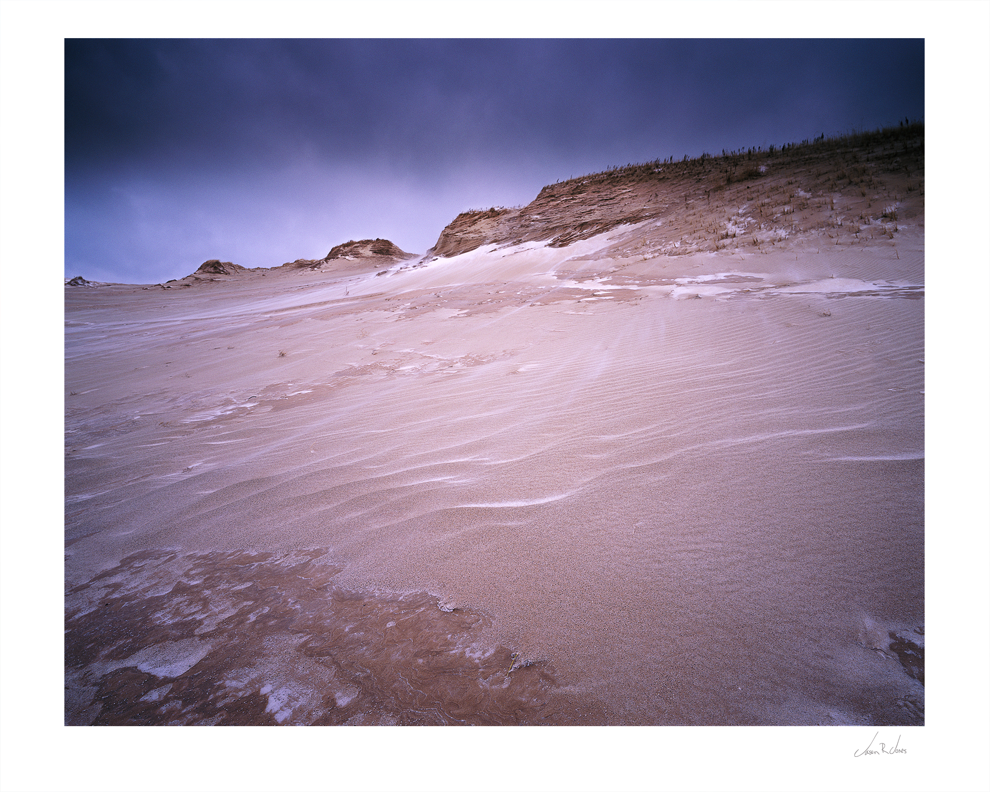 """Life In Slow Motion"" - Mamiya 7II, Fuji Velvia 50, Sleeping Bear Dunes National Lakeshore"