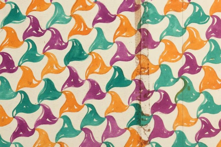 Gio Ponti, projeto gráfico de tecido