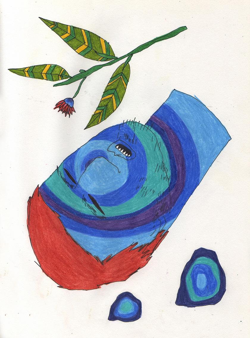Eduardo Sancinetti, desenho abraça o tema da exposição