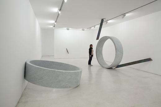 Nelson Felix, Verso, 2013, referência ao espaço circular / Foto Everton Ballardin