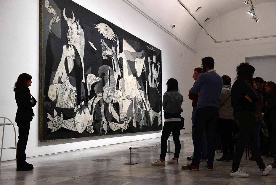"""A pedido de Picasso, """"Guernica"""" só retornou à Espanha ao final da Ditadura de Franco em 1975"""