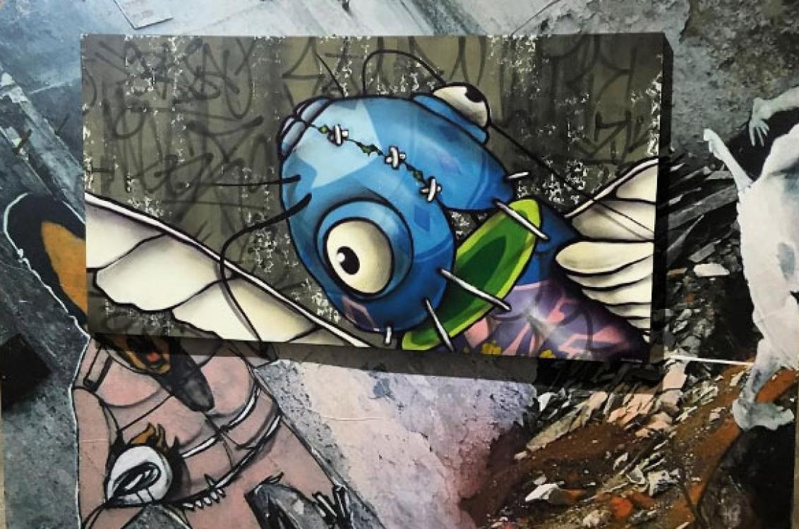 Niggaz, grafite