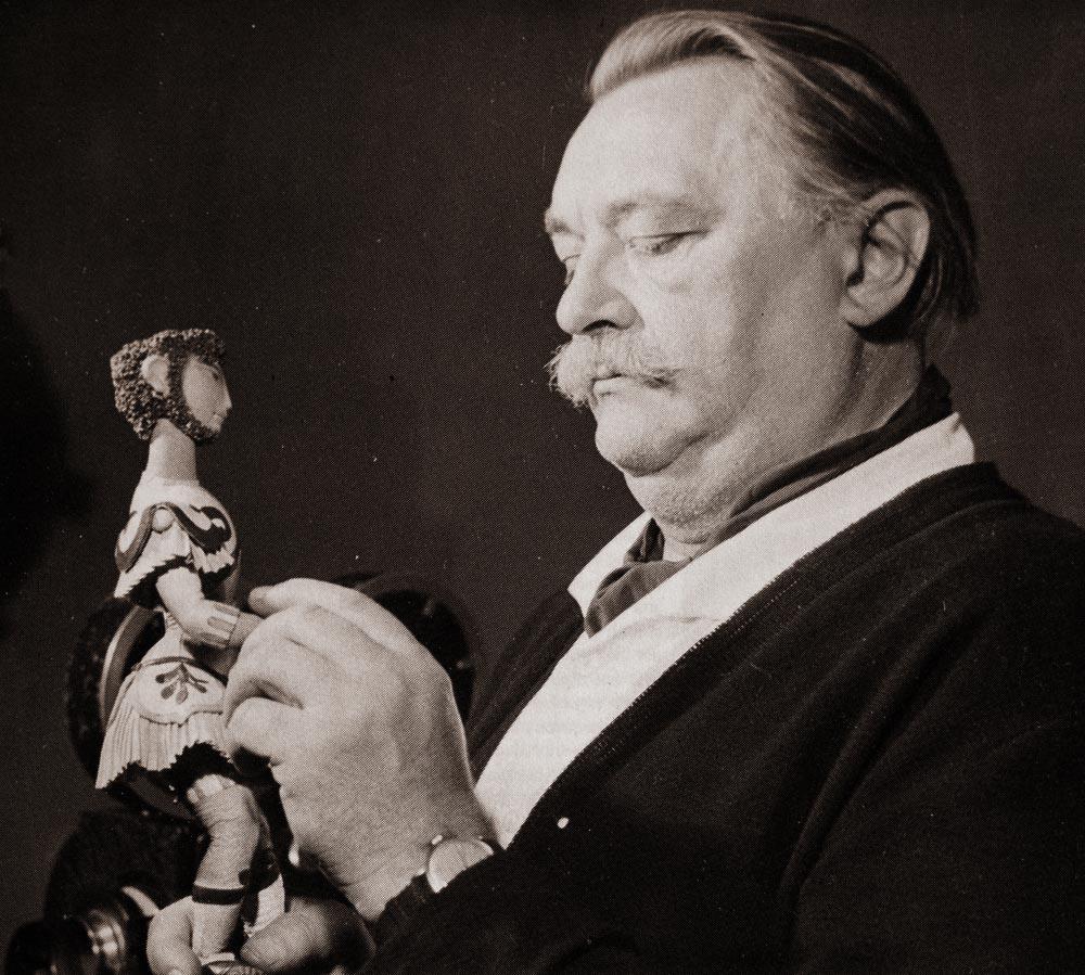 O tcheco JiríTrnka (1912-1969) conquistou o reconhecimento como cineasta da Animação