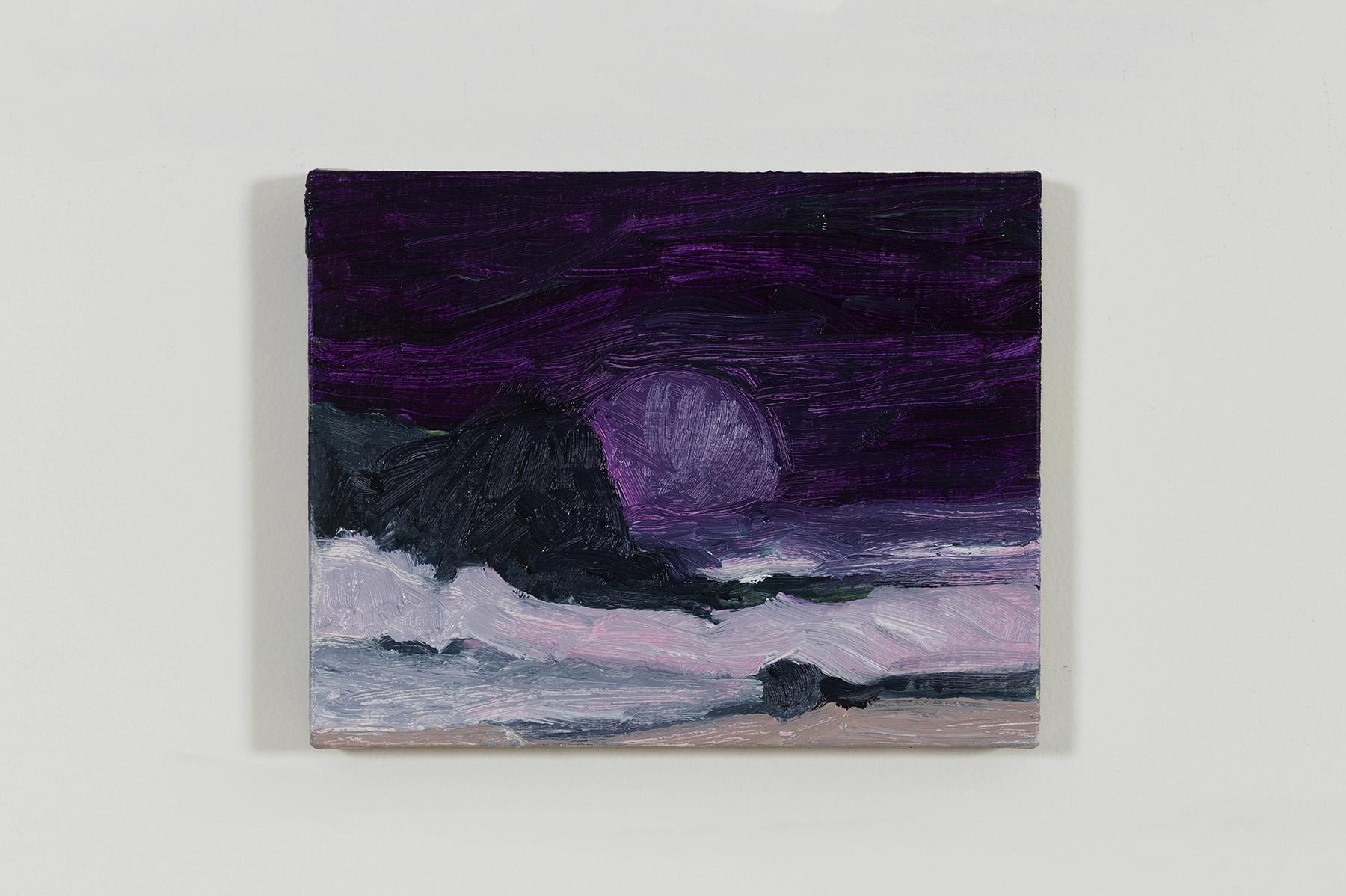 Gabriela Machado, Sem Título, 2017, óleo sobre tela, 15 x 20 cm