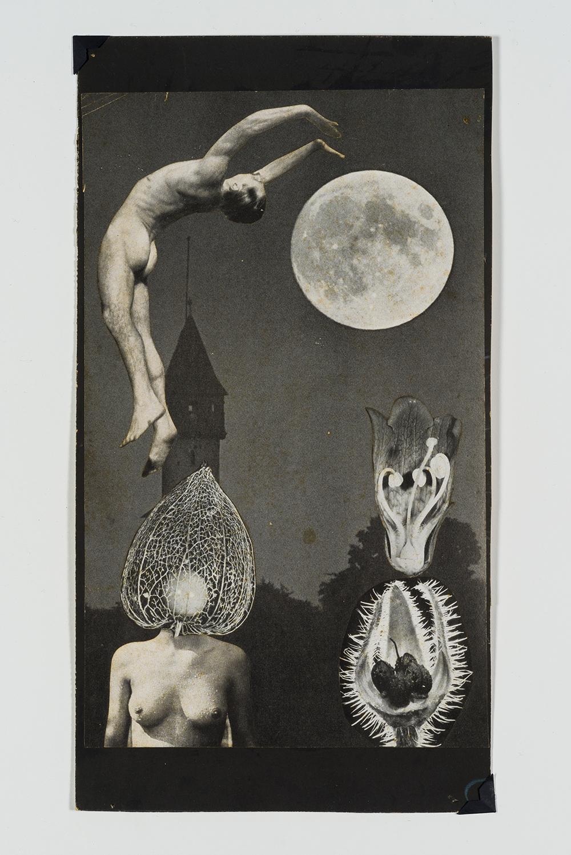 Produções a partir de fotomontagens integram esta mostra em rara apresentação ao público