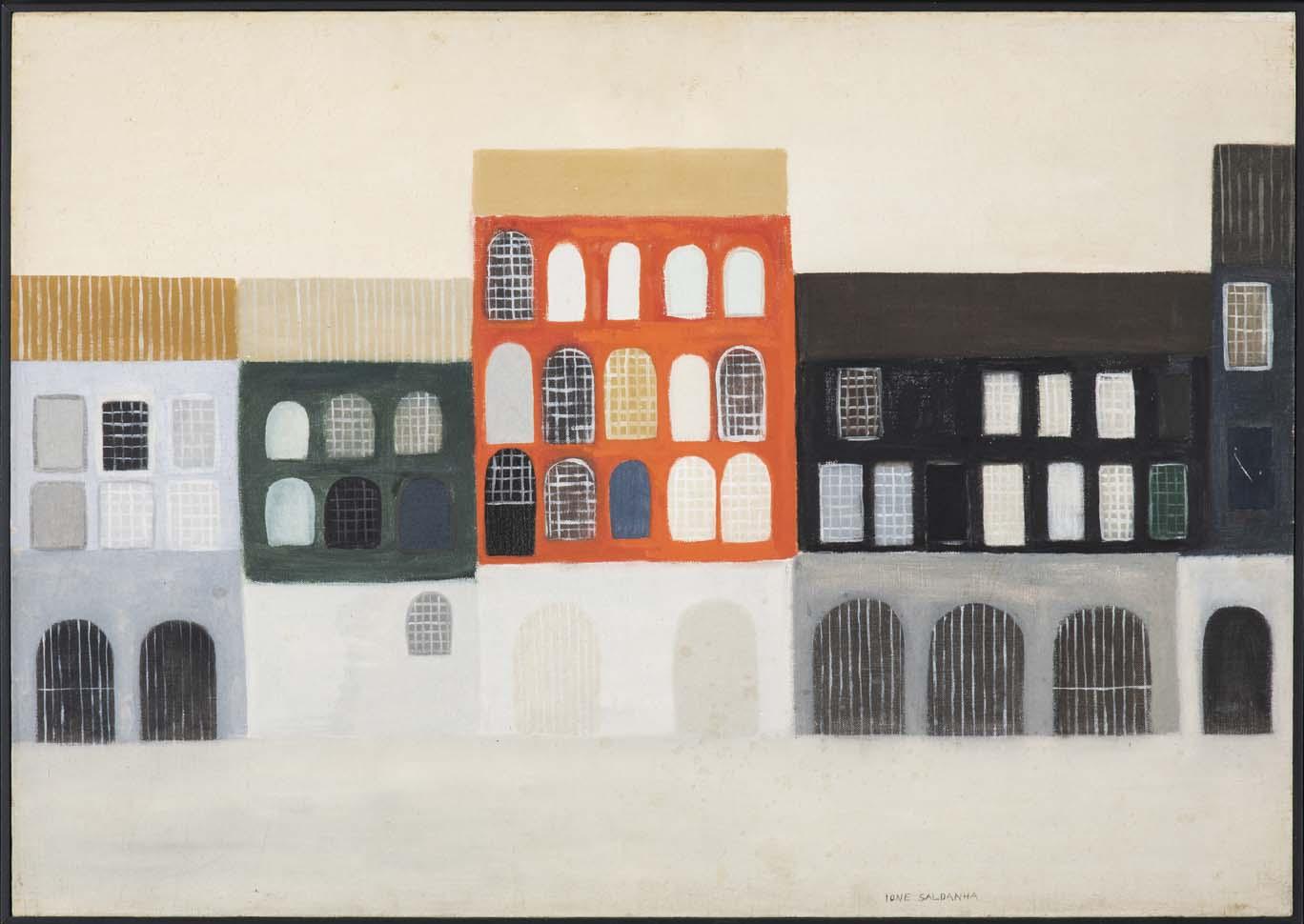 Ione Saldanha, Sem Título, óleo sobre tela, 58 x 80 cm