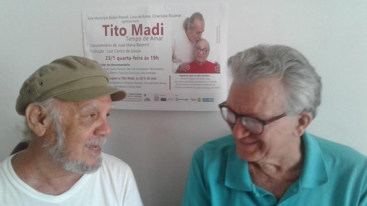 """José Maria Bezerril e Luiz Carlos Souza: filme foi realizado com recursos próprios e """"cooperação informal"""""""
