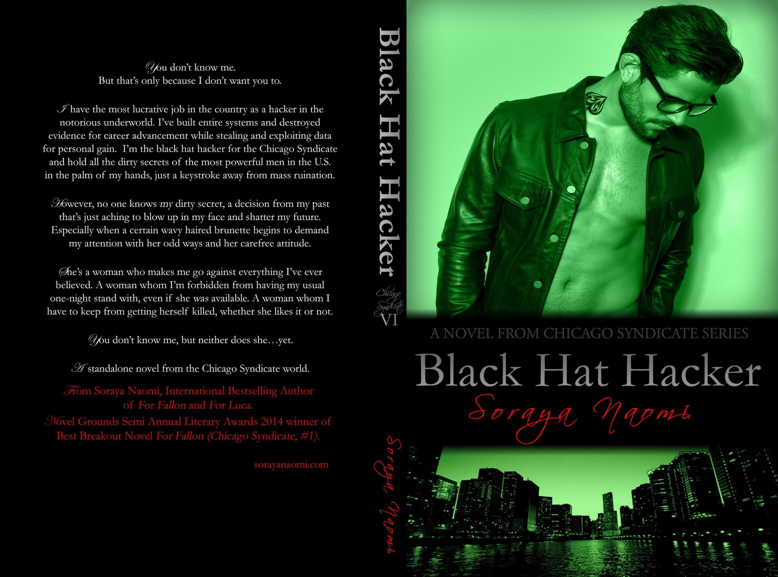 Release Blitz ~ Black Hat Hacker by Soraya Naomi — White Hot