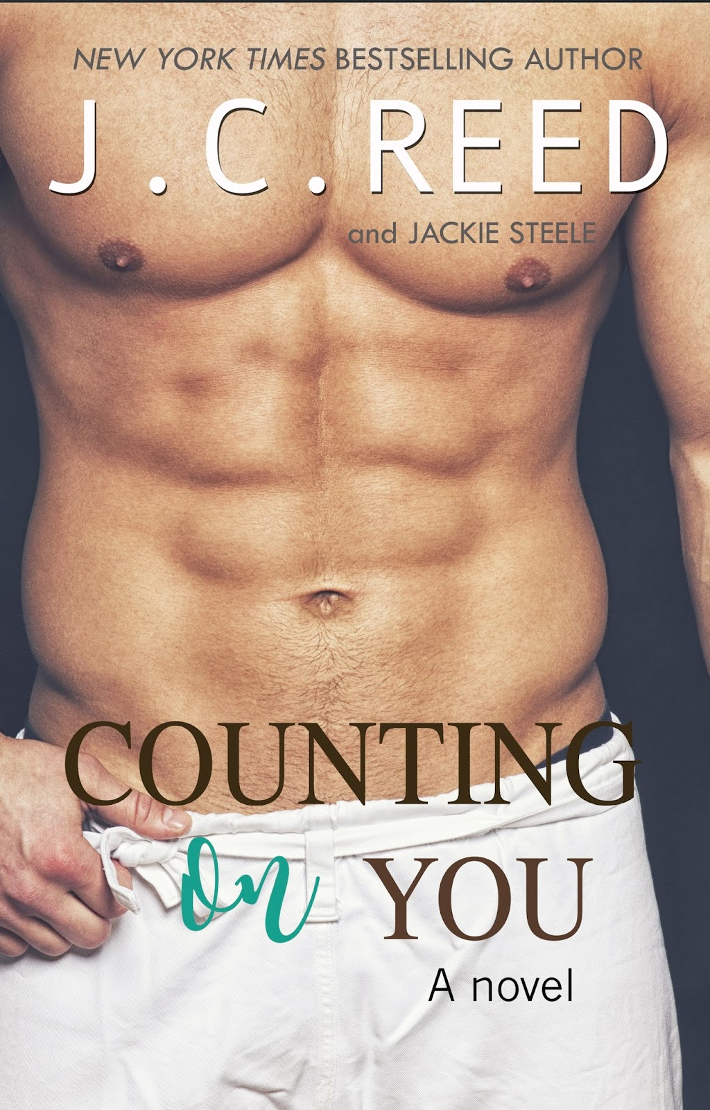 From New York Times Bestselling Author, J.C. Reed, and Jackie Steele comes a new standalone novel.  I have everything I want. Success. Wealth. Women…and make that plenty of those. As a filthy-rich CEO, I would say I'm pretty much close to perfection. Except for that one weakness: I'm cocky as hell, and an irresistible magnet for women.  So when one tiny mistake lands me in hot waters with the investors, I have one hell of a choice to make:  Restore my reputation… Or risk losing my company.  I'm a man of my word and failure is not an option. Not now. Not ever. I fully intend to uphold my responsibilities.  Sharing an apartment should be easy, right? And it's only for six weeks. That's what I thought before I found out that my new roommate is female. And wow. Vicky Sullivan is unlike any woman I've ever met. She's hot as sin, and crazy. Definitely not my kind of crazy, but too hot to pass up. There's something about her that makes me rage with want. I don't like her, but obviously my dick does. And what he wants, he gets.  Six weeks… Living together shouldn't be too hard… Until my best friend challenges me to a bet… I make it my mission to make her mine.  There's only one problem. I have to break…Every. Single. Rule. And did I mention she's completely off-limits?  It's too late to say no.  Author's note – Counting On You is a  full-length, standalone novel with no cliffhanger.    AMAZON US / AMAZON UK /  B&N / KOBO / GOOGLEPLAY   /   iBOOKS