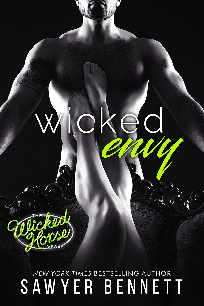 The best of friends. Two men. One woman. A sinful playground called The Wicked Horse.  Entrepreneur turned millionaire, Dane Hawthorne, has been known to get his kicks at The Wicked Horse Vegas, and he has no shortage of beautiful women waiting for a shot at him. Driven to succeed, no matter if he's in the boardroom or the bedroom, Dane never backs down from a challenge.  Avril Carrigan isn't the type of woman to take risks in her personal life but after a broken heart and too much liquid courage, Avril decides to best way to get over one man, is to get under another. Looking to experience all the debauchery she's heard about from her best friend and business partner, Dane, she requests one thing of him—take her to The Wicked Horse.  The request seems simple. One friend helping another in her time of need. But now that they've crossed the threshold, things aren't as easy as they once seemed. Not only is Dane looking at Avril in a new light, but so is their other business partner and best friend, Andrew Collings. As Dane's envy blooms, he wonders if he made the right decision when he agreed to show Avril his wicked world.  What happens when the lines of friendship are blurred and boundaries are crossed? Will their relationships survive or will jealousy tear them all apart?