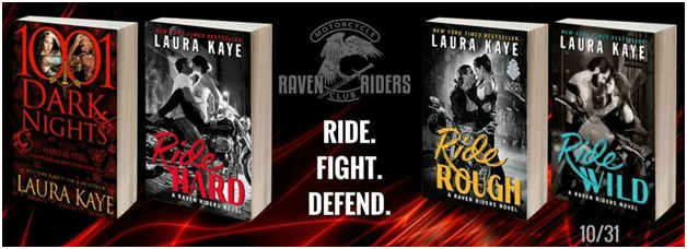 And don't miss all the books in the  Raven Riders Series !    HARD AS STEEL Now Available  ~  Raven Riders Series Now Available