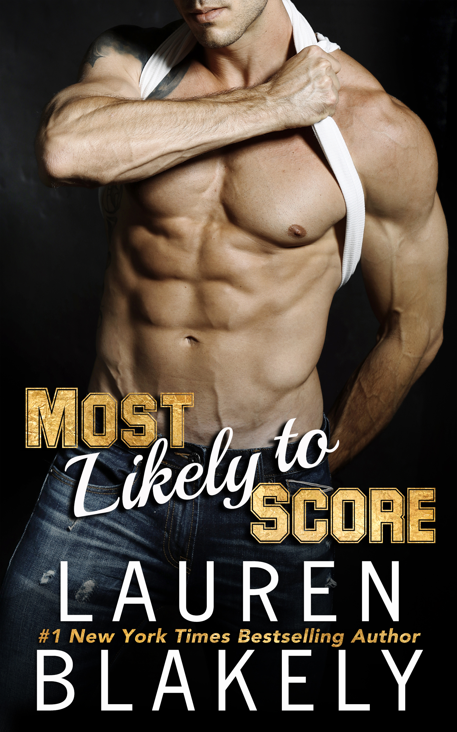 ✮✮✮ MOST LIKELY TO SCORE is here! Grab your copy today! ✮✮✮     A sexy new forbidden romance from #1 NYT Bestselling Author Lauren Blakely...       It should have been a simple play…   She needed a football player to step up and be the star for a charity calendar. I needed a sharp and savvy publicist to manage a brand-new sponsorship deal. I scratched her back. She scratched mine. And oh hell, did Jillian ever drag her nails down my back on one hell of a hot night. Okay fine, it was several hot nights on the road.  Now we're back in town and it's time to set the play clock back to when we were simply player and publicist. Given the way the last few years have gone, I can't risk this deal, so it's hands off for us once again. Trouble is, I want more than than just another night with her.   What's a guy to do when he's always been most likely to score, but the woman he's falling for is just out of bounds?   I don't date players. And I definitely don't sleep with players. And I absolutely don't fall for a certain player when I get to know him and learn he's more than just sexy -- he's clever, funny and has a heart as big as his . .. well, you get my drift.  But my job is at stake, and I can't afford to lose that as well as my heart. The problem is, I think I've already lost that game.   What's a girl to do when the clock is running out, but the man she's falling for is off limits?    MOST LIKELY TO SCORE is a brand new standalone sports romance written in dual POV!    ✦ Amazon ✦ Amazon UK ✦ Amazon AUS ✦ Amazon CAN ✦ Audible   ✦  ✦ iBooks ✦   iBooks UK   ✦ B&N ✦ Kobo ✦ Amazon PB ✦ Google Play ✦