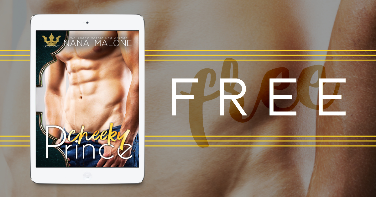 What Good is a Throne if the King Isn't Worthy... Before I was a King… Before I was known for my naked hot tub antics… Before my neighbor turned my world upside down… I was a Cheeky Prince.  Amazon → https://amzn.to/2JbkaD8  iBooks → https://apple.co/2G8bF9G  Nook → http://bit.ly/2DPaaeK  Kobo → http://bit.ly/2FXQHyp  Google Play → http://bit.ly/2pyHHoz