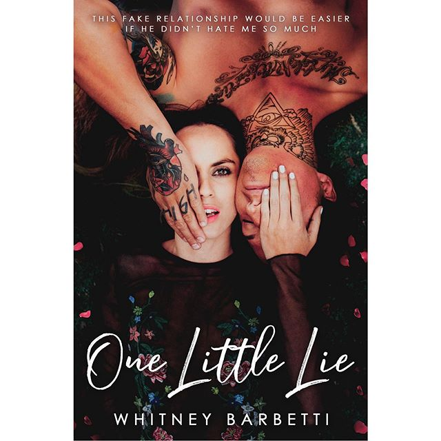 Happy Cover Reveal @barbetti! This may just be my favorite if yours!  One Little Lie is coming June 27!  #whitneybarbetti #onelittlelie #newadult #enemiestolovers #coverreveal #bookaddict #bookstagram #authorsofinstagram #bloggersofinstagram #whitehotreads