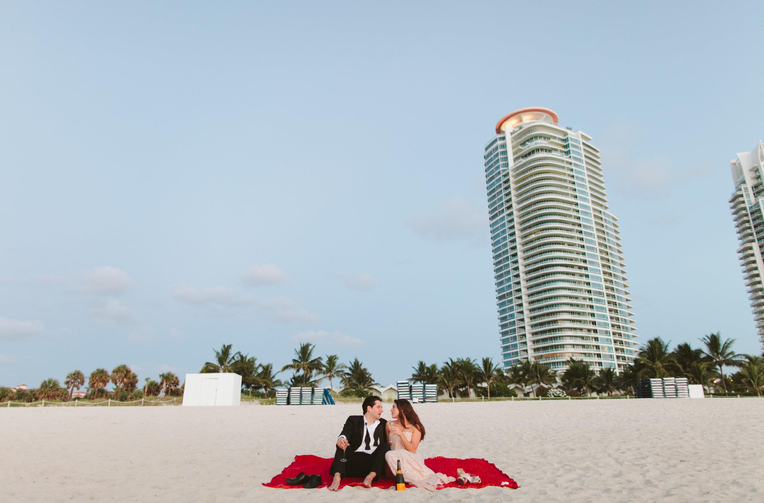 Meli + Mike South Pointe Park South Beach Miami Engagement Shoot12.jpg