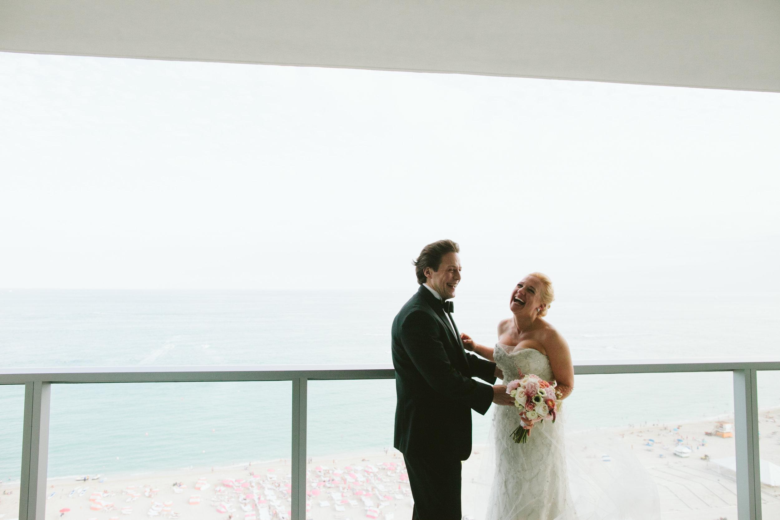 Wedding at the W South Beach Miami