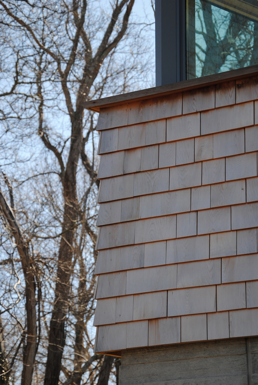 Corner Shingle Detail & Window SIll