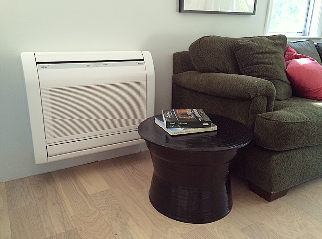 Floor Mounted Mini Split Heat Pump