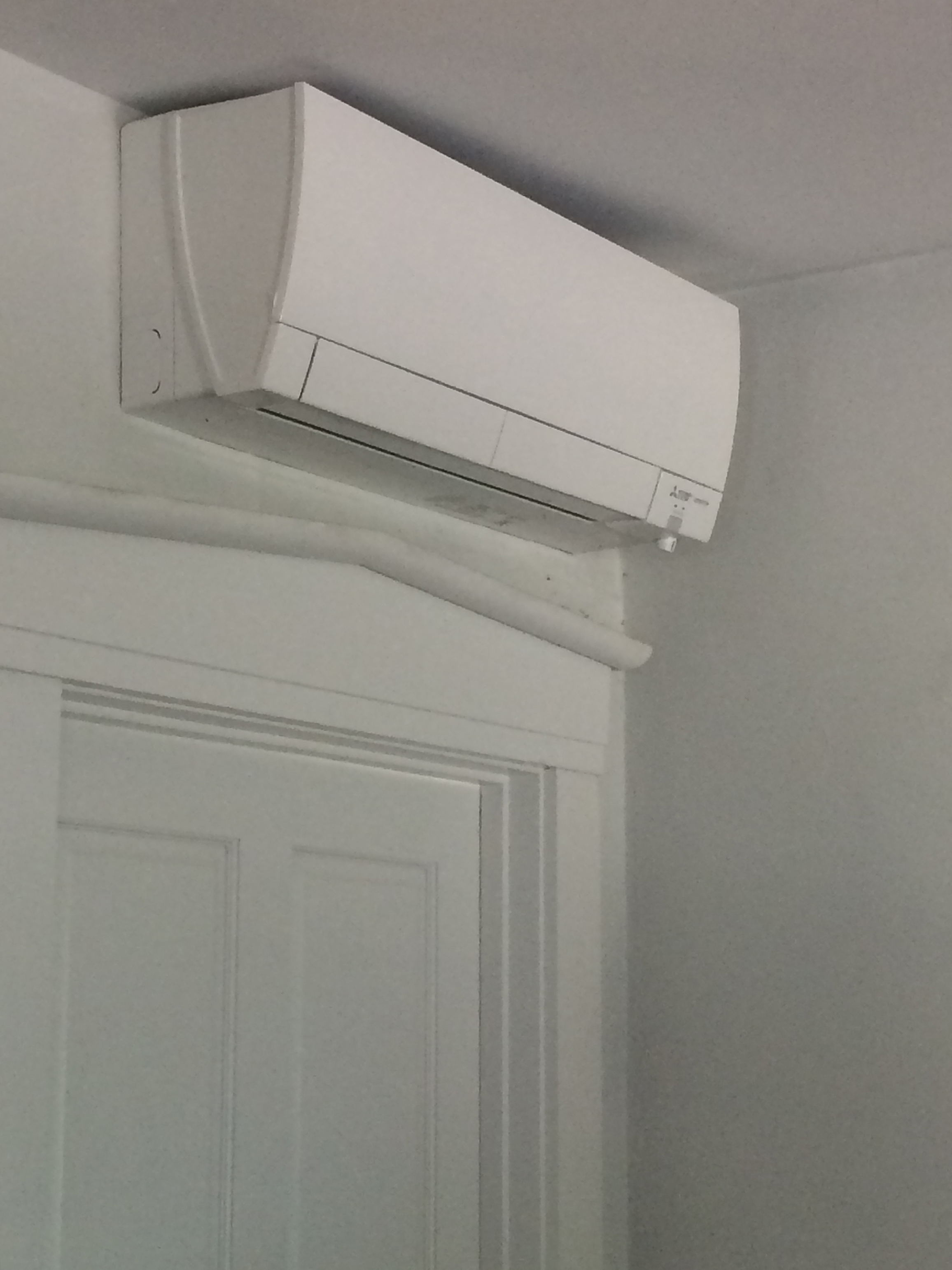Wall Mounted MSHP at A3 Architect's Office