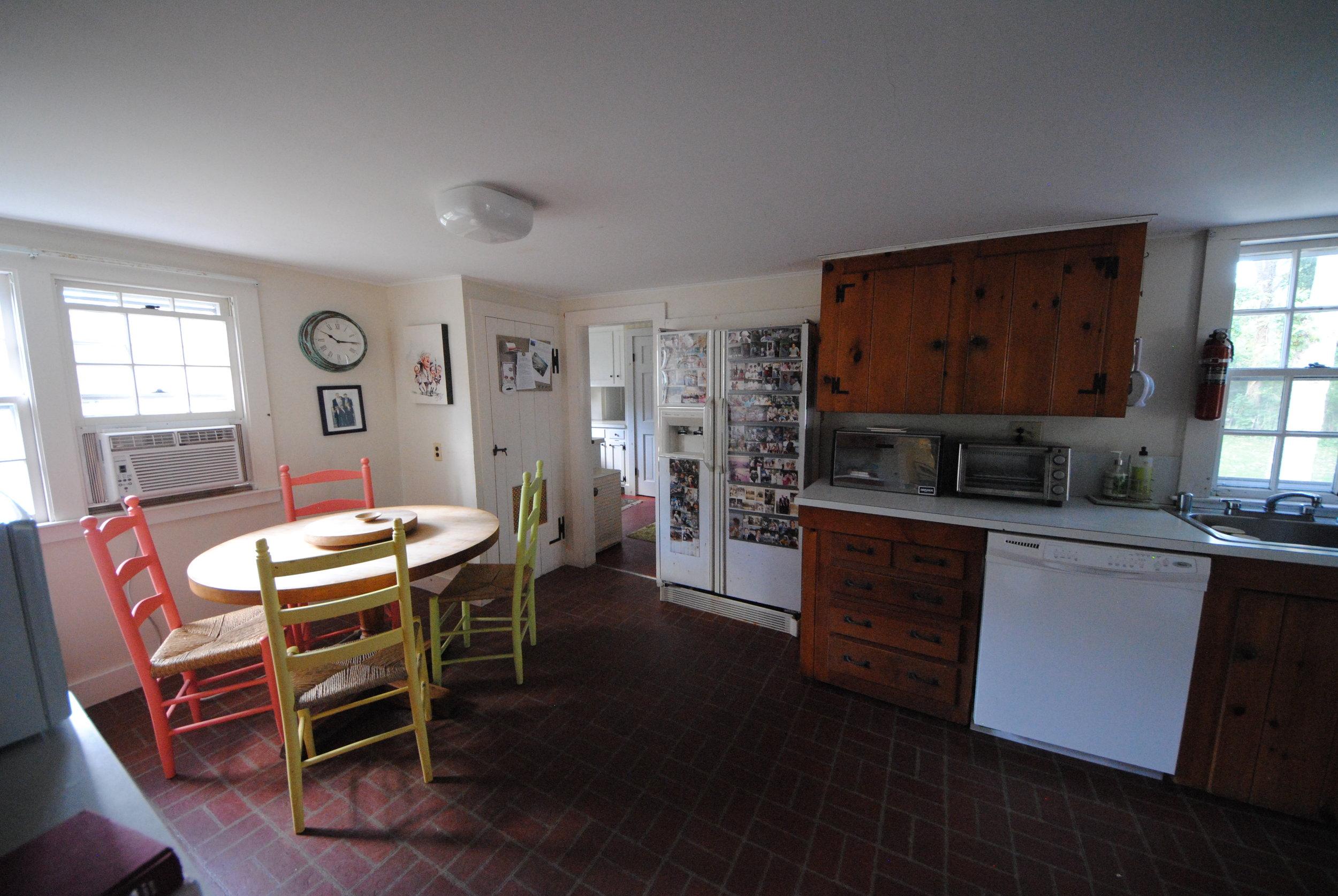 Kitchen before renovation/addition