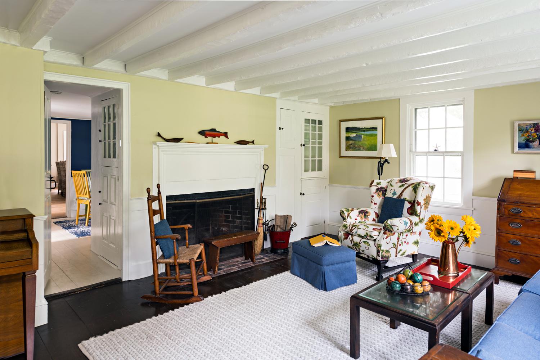 Living room renovation after