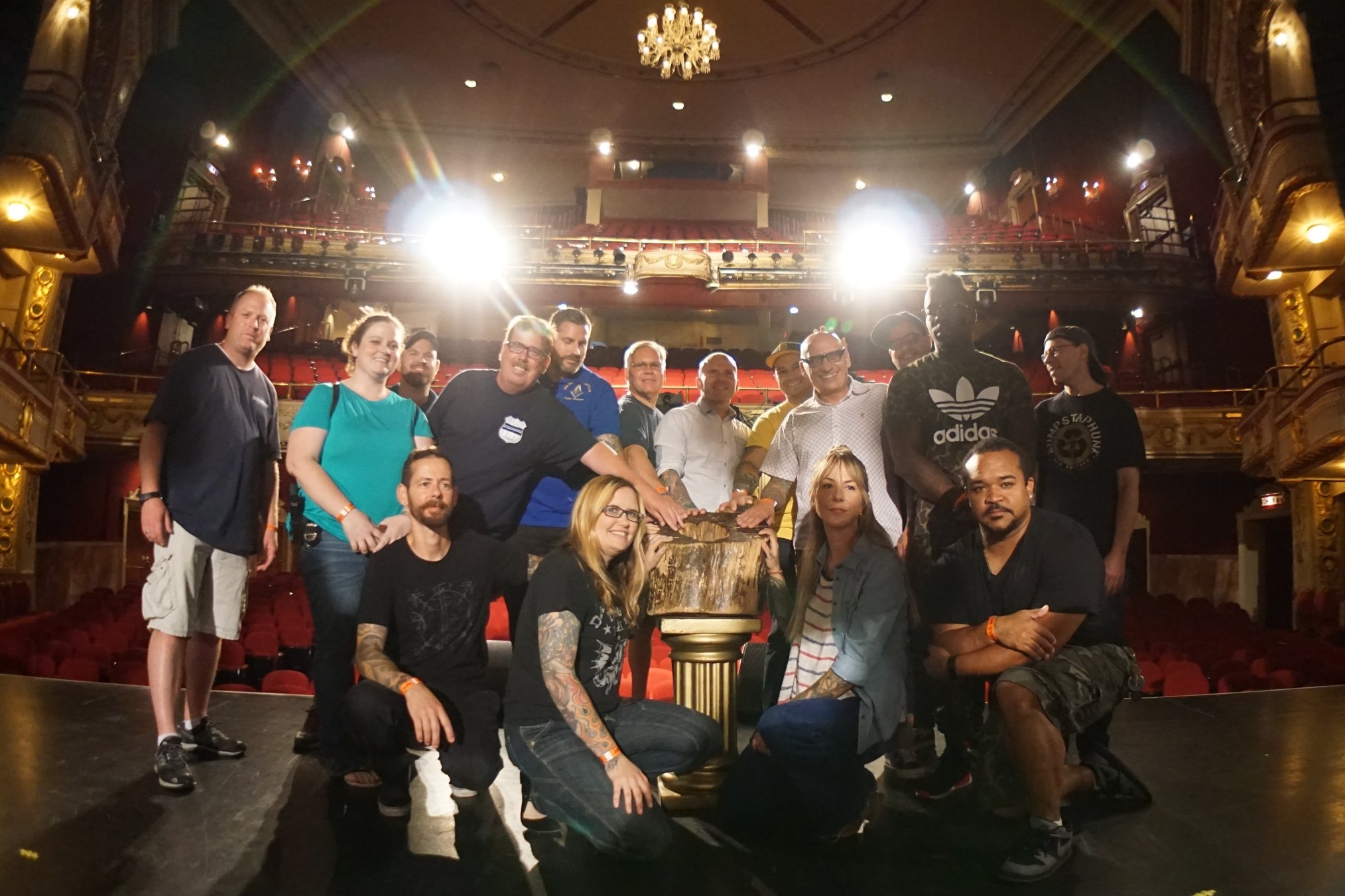 Healing Ink NYC - Harlem's World Famous Apollo TheaterJuly 2017