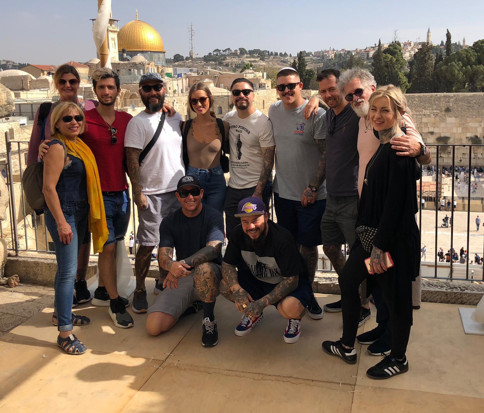 Healing Ink Israel - Haifa Museum of ArtOctober 2018
