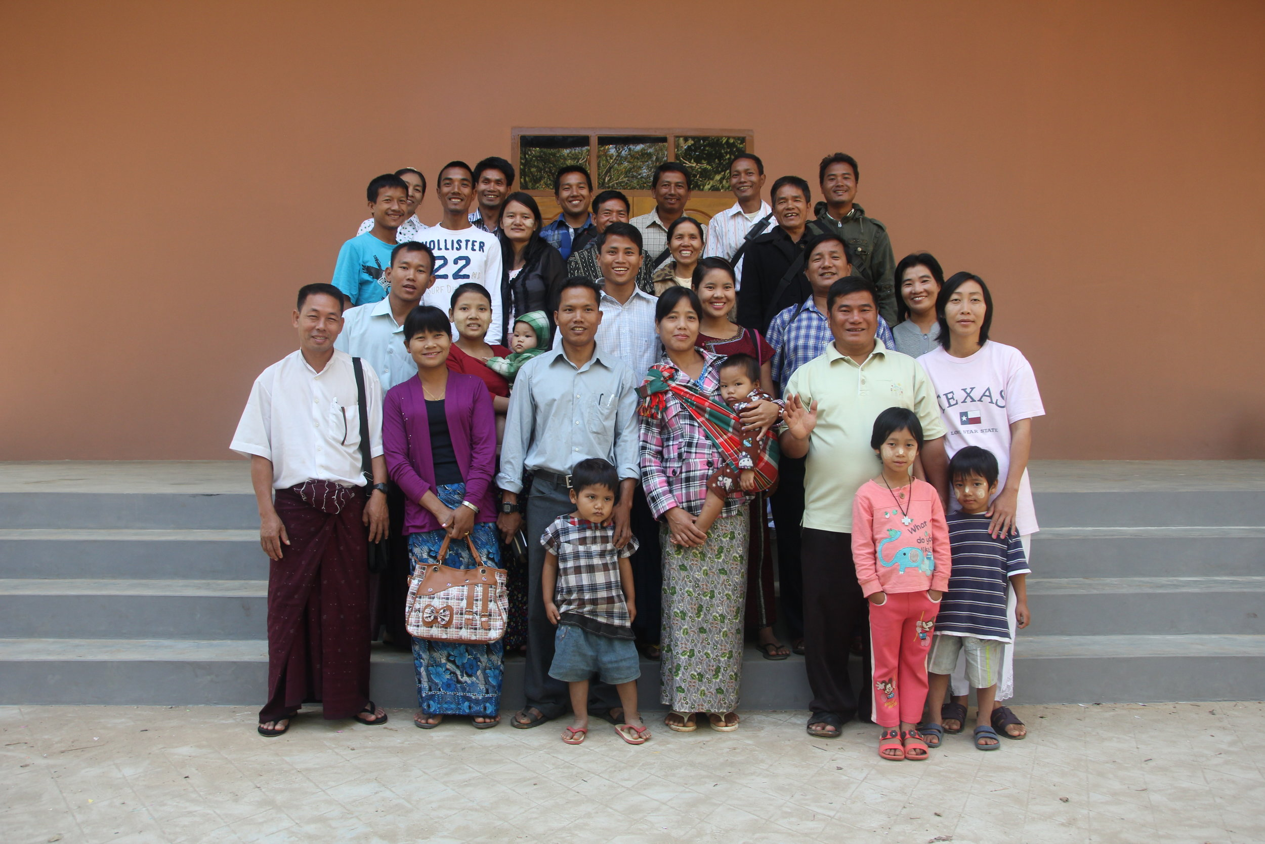 Church planters from Myanmar