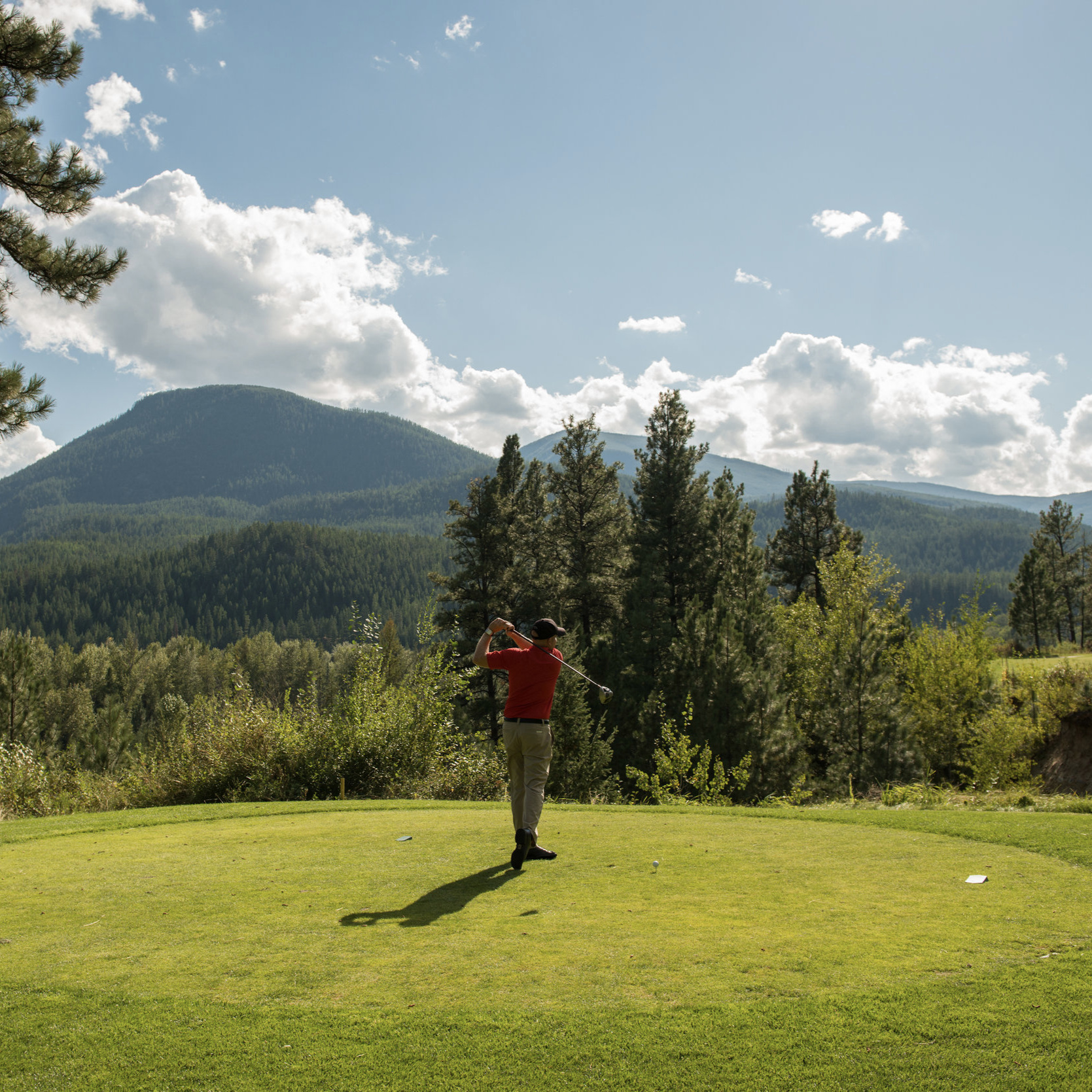 Photo by Pat Bates   Bootleg Gap Golf Course
