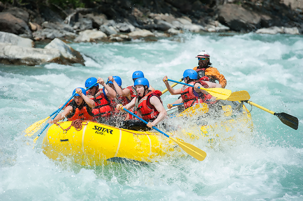 Photo courtesy of Kootenay Rafting Co