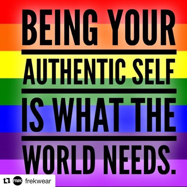 💯 🙌🏼 — #Repost @frekwear ・・・ We all want the same things, be you, don't worry about who doesn't like it. #beyou #weareallinthistogether #helpeachother #supporteachother #noh8 #liveyourlife #dontworryaboutanyoneelse #frekwear #frēK #pride #respect