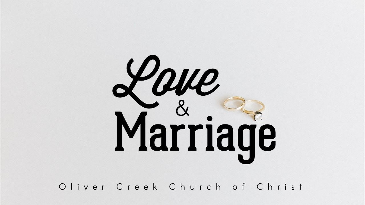 Love and Marriage: The Meaning - 10/22/17 - Smith Hopkins — Oliver
