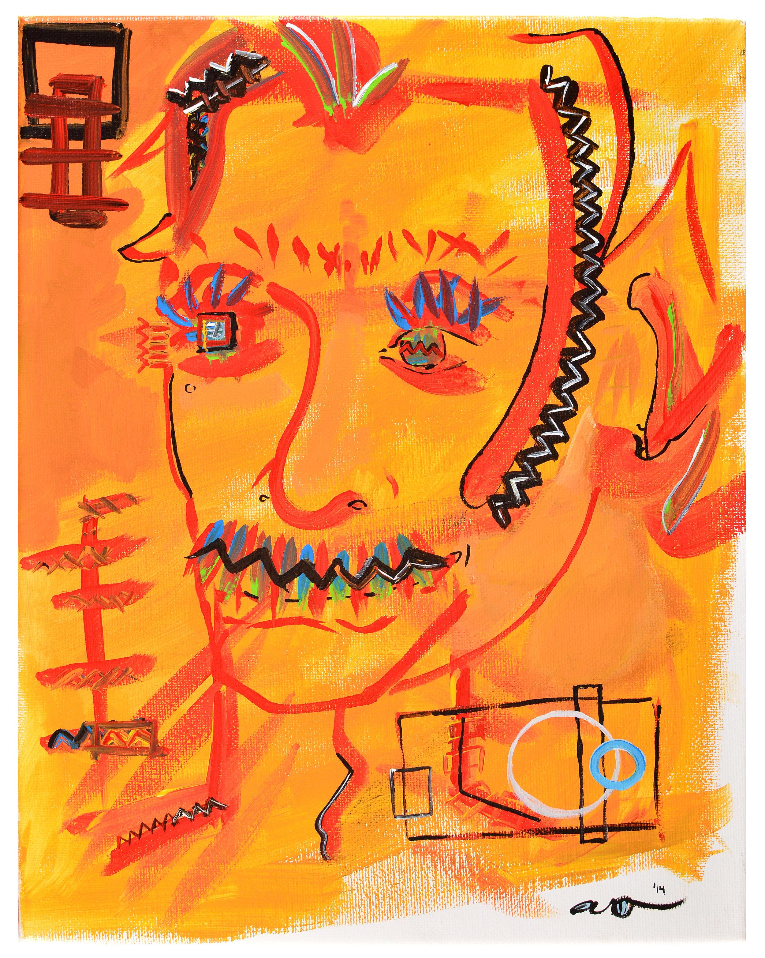Self-Portrait III - Yellow Man