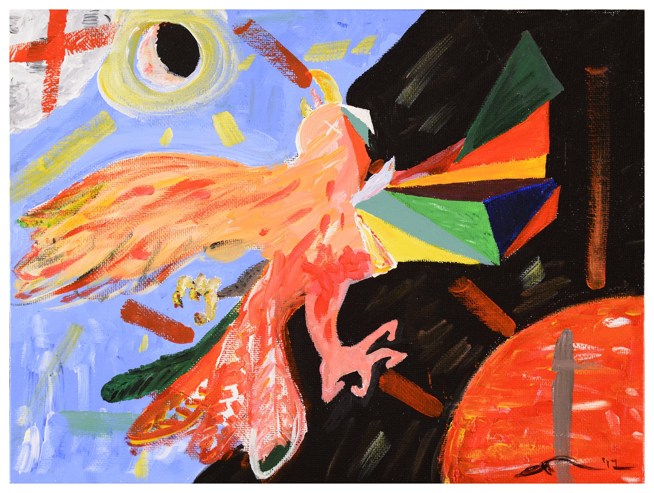 Conversation with Jean-Michel Basquiat I - Phoenix I
