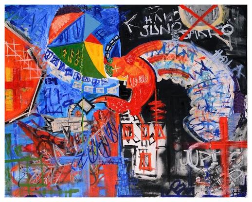 Conversation with Jean-Michel Basquiat II - Phoenix II