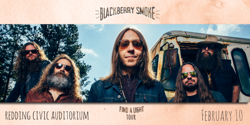 Blackberry Smoke — Redding Civic