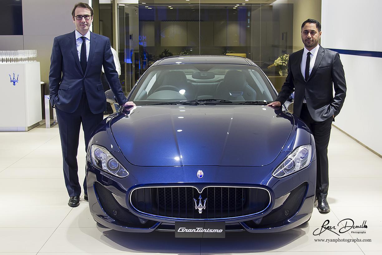 Maserati Mumbai Showroom Launch