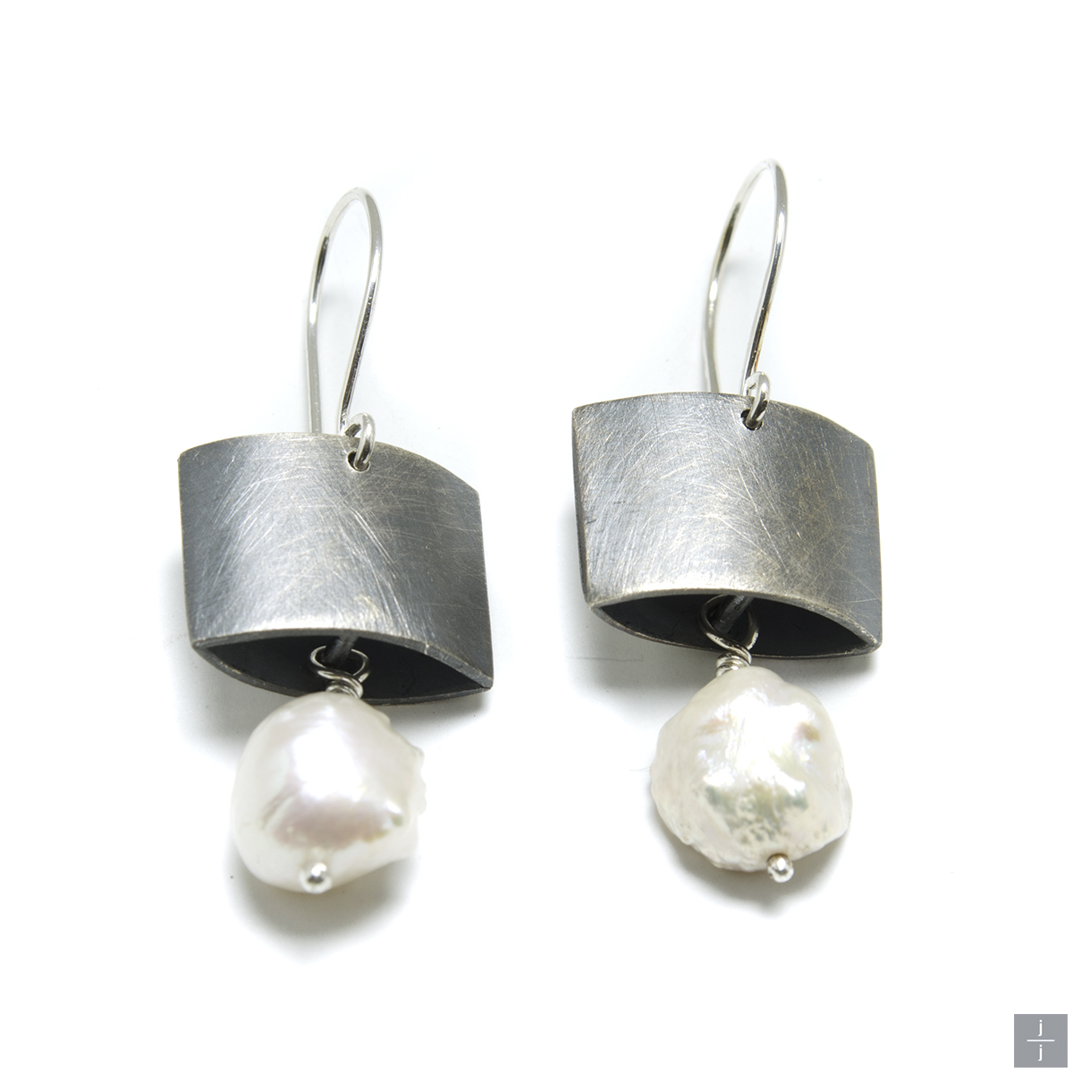 """Jackie"" Pearl Earrings"