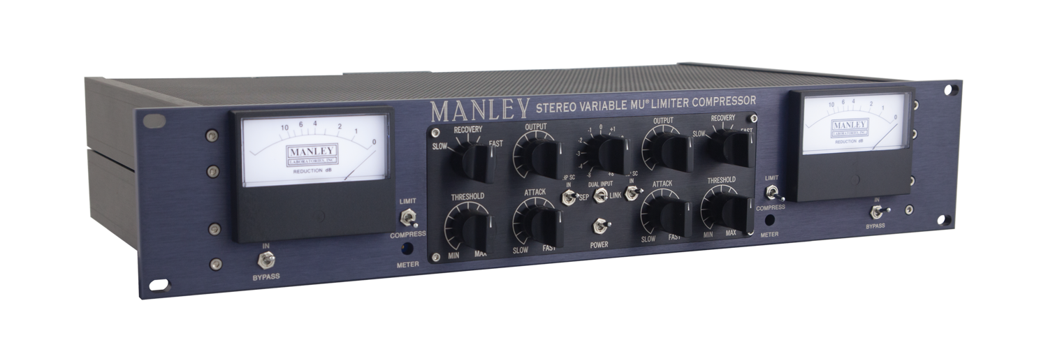Manley Stereo VARIABLE MU® Limiter Compressor — Manley Laboratories