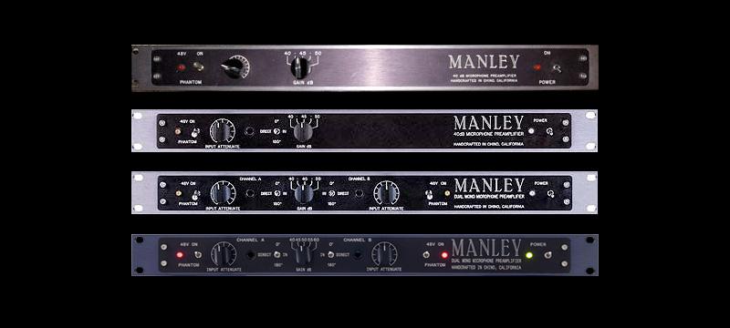 Manley Mono and Dual Mono Mic Preamps — Manley Laboratories