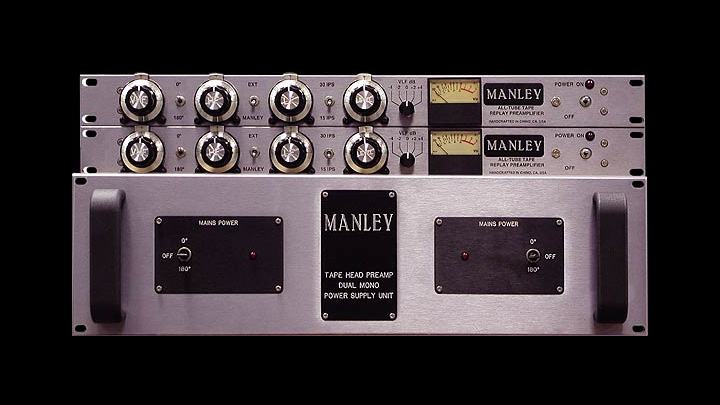 All-Tube Tape Head Preamplifier — Manley Laboratories, Inc
