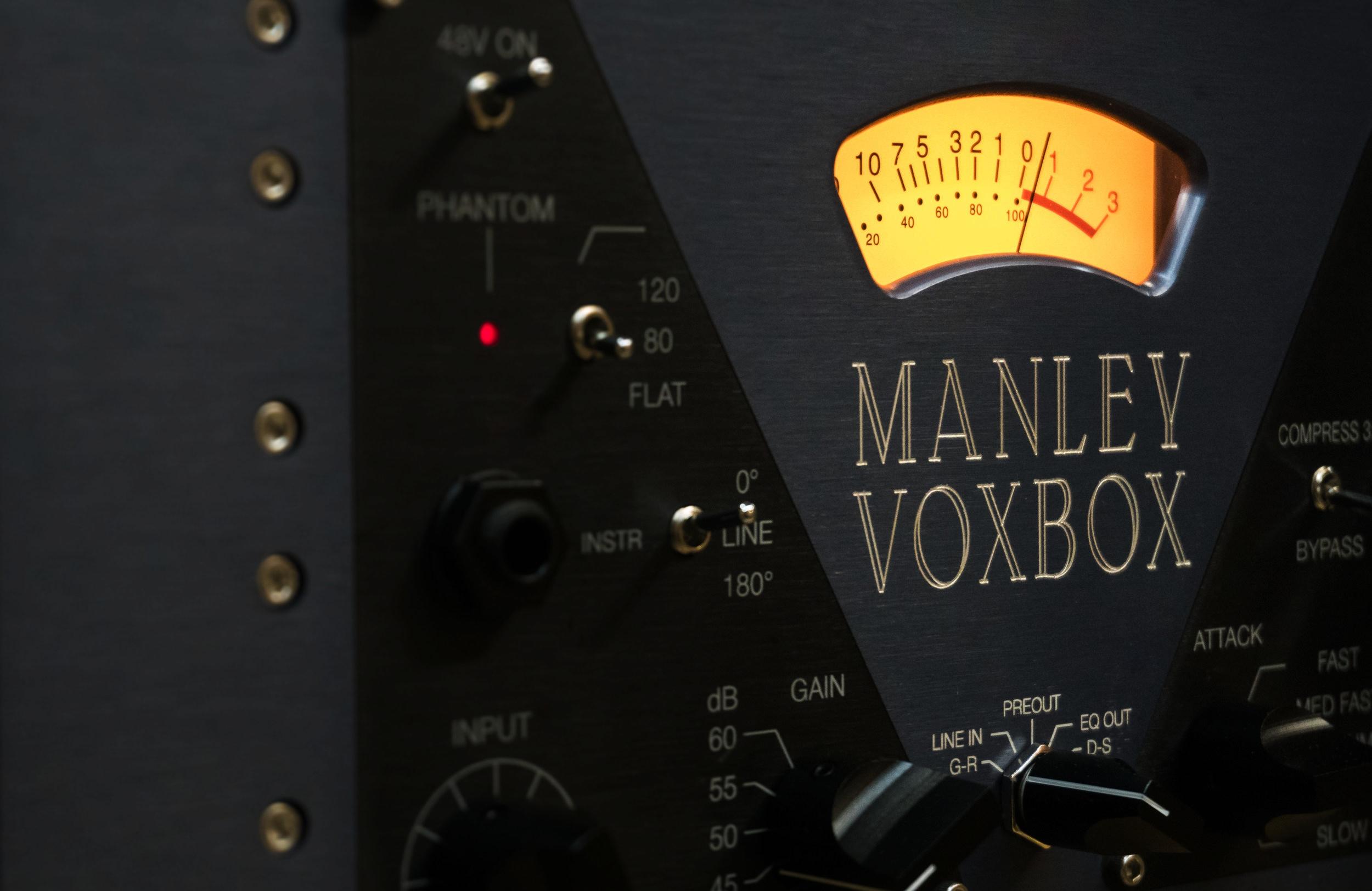 Manley VOXBOX® Channel Strip — Manley Laboratories, Inc