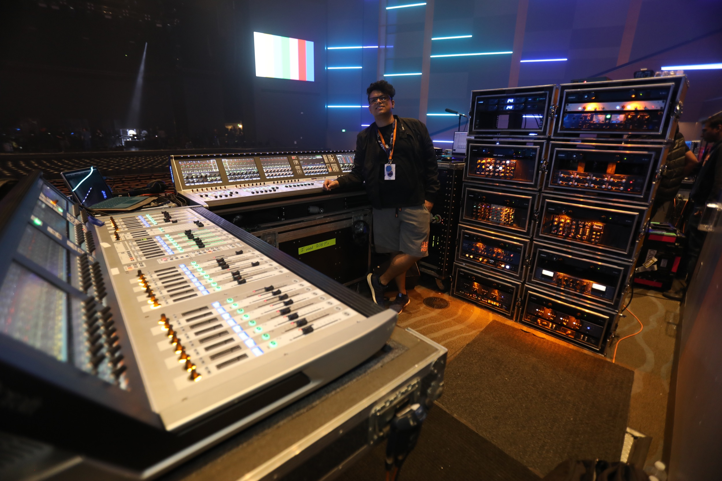 On Tour with FOH Engineer Sunny Sanour — Manley Laboratories, Inc
