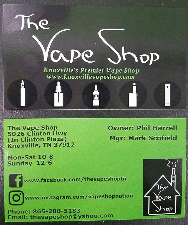New cards in! This is the first redesign in nearly 4 years. Come see us!  #VapeShopTN #VapeOn #VapeStrong #VapeProud